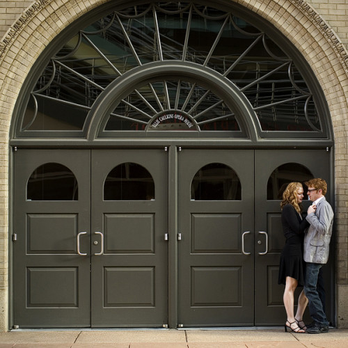 Denver Center for the Performing Arts - Carly and Christopher Engagement