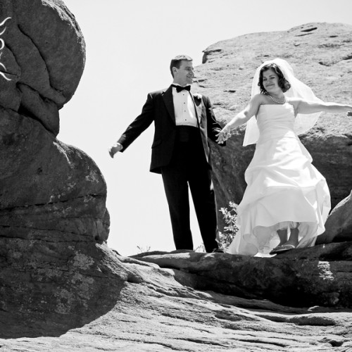 Chrissy and Dave: Colorado Wedding at Red Rocks!