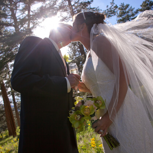 Marcy and John - Della Terra Wedding in Estes Park