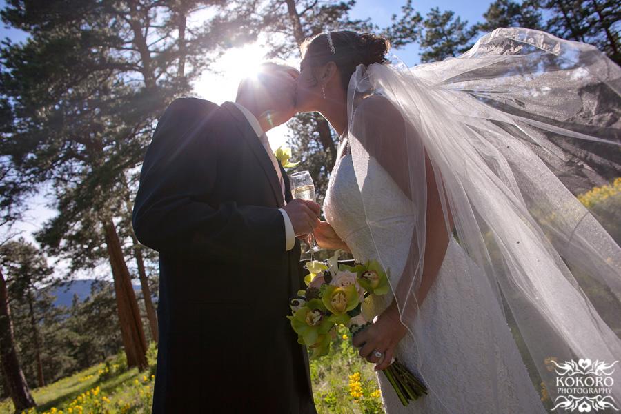 Marcy and John - Della Terra Wedding in Estes Park