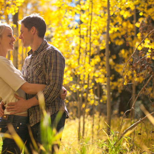 Engagement Photography - Caitlin and Ben in Keystone