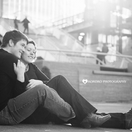 Katie and Kolton- Downtown Denver Engagement