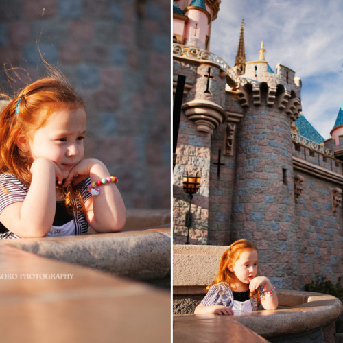 Charlee and Brayden - Disneyland Portrait Session