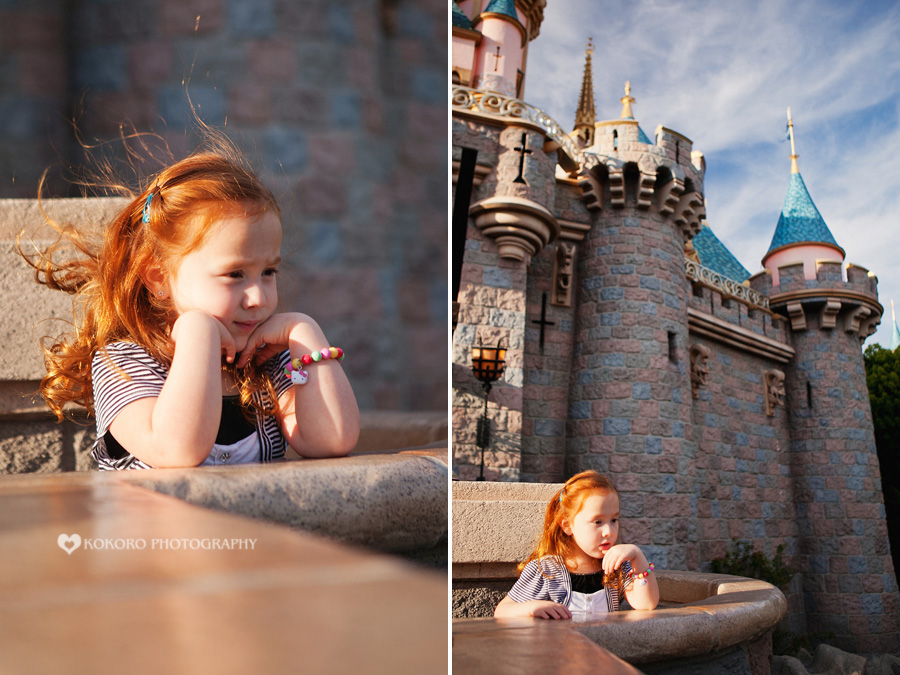 Charlee and Brayden - Disneyland Portrait Session