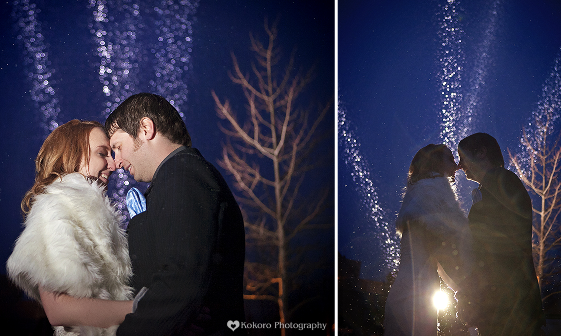 Jodine and Michael- Breckenridge Snow Sculpture Wedding