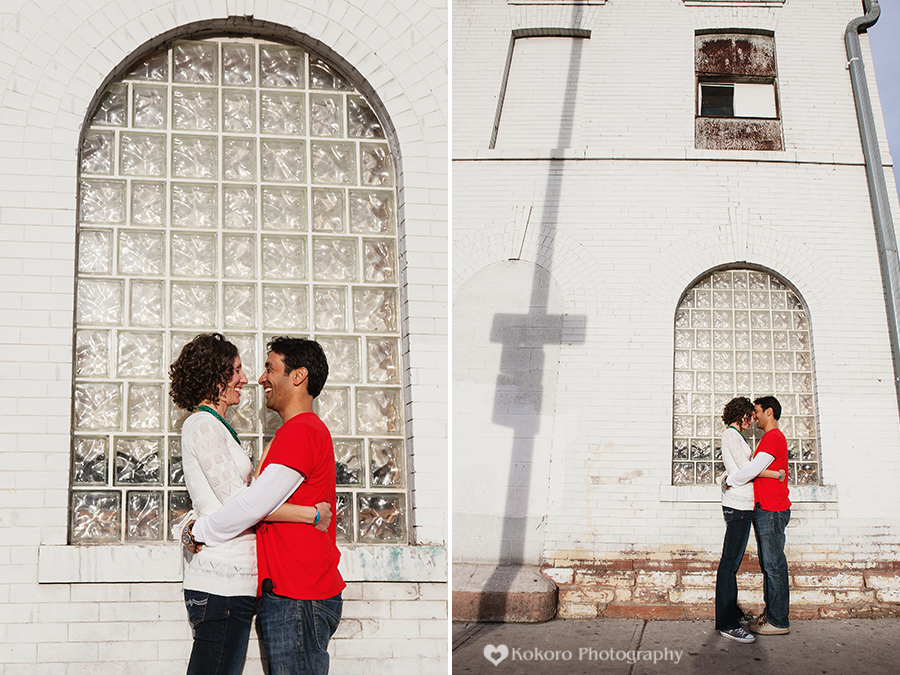 Engagement Pictures in Denver's RINO District