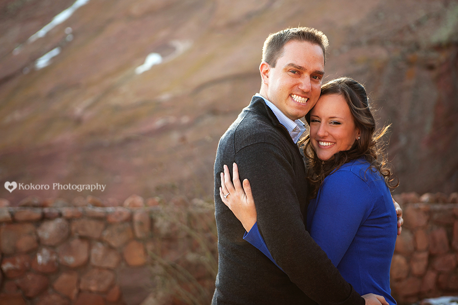 Engagement Pictures at Red Rocks Amphitheatre