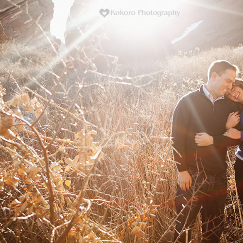 Danah and Matt- Red Rocks Engagement Session