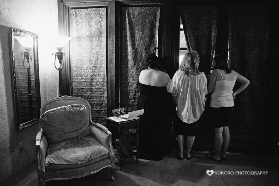 Indoor Ceremony at the Villa Parker