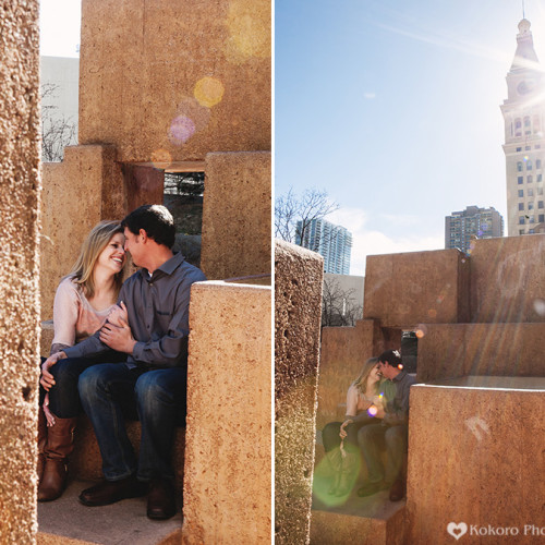 Molly and Alex- Downtown Denver Engagement