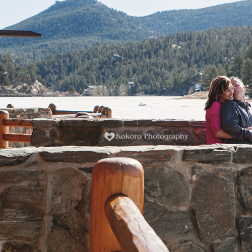 Kim and Mark- Evergreen Lakehouse Engagement Session