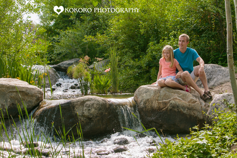 Family Photos at Hudson Gardens