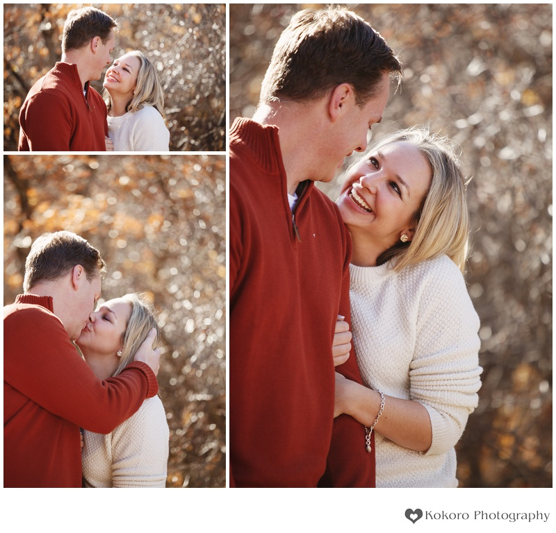Fall Engagement Session in Colorado