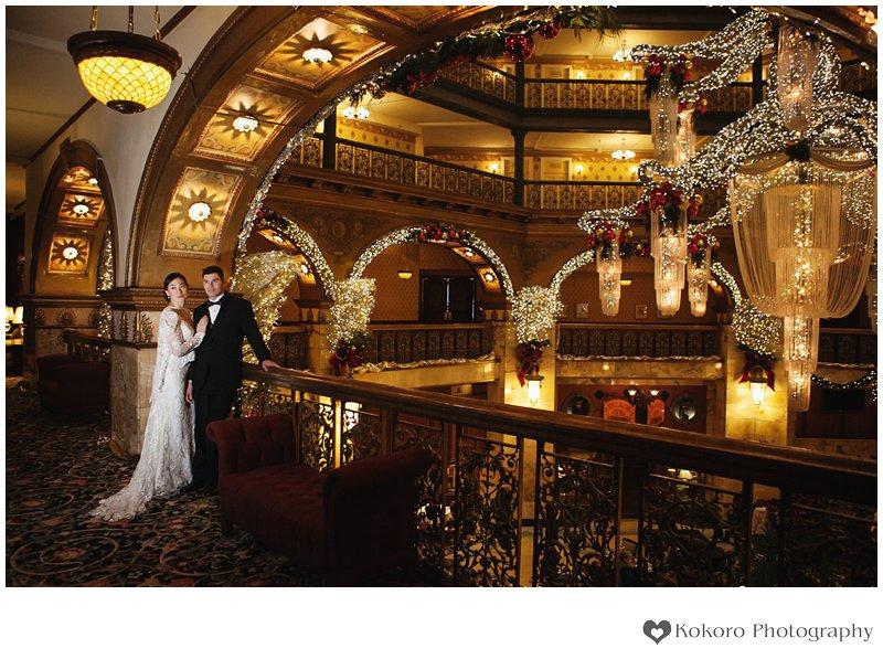 Susan and Jeff- Brown Palace Hotel Wedding