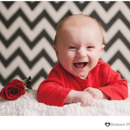 Declan- Valentine's Day Baby Pictures