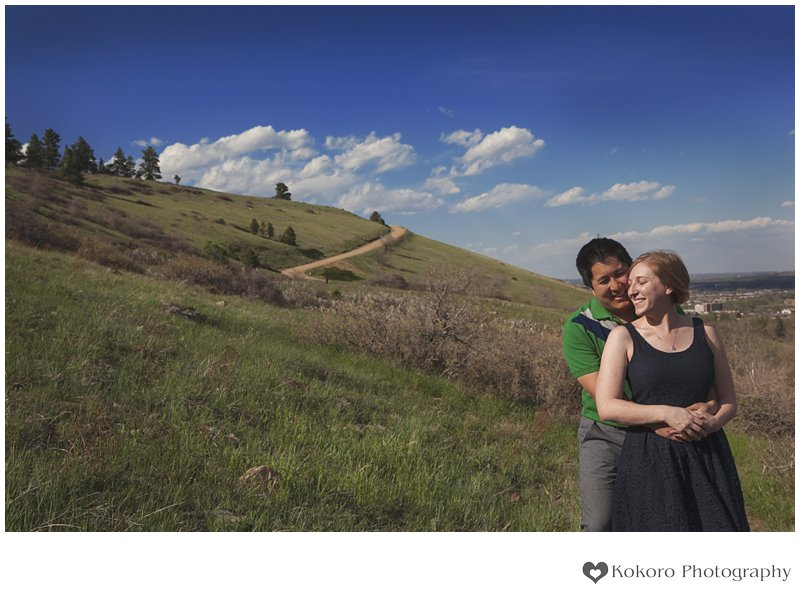Bridget and Jumin- Boulder County Engagement