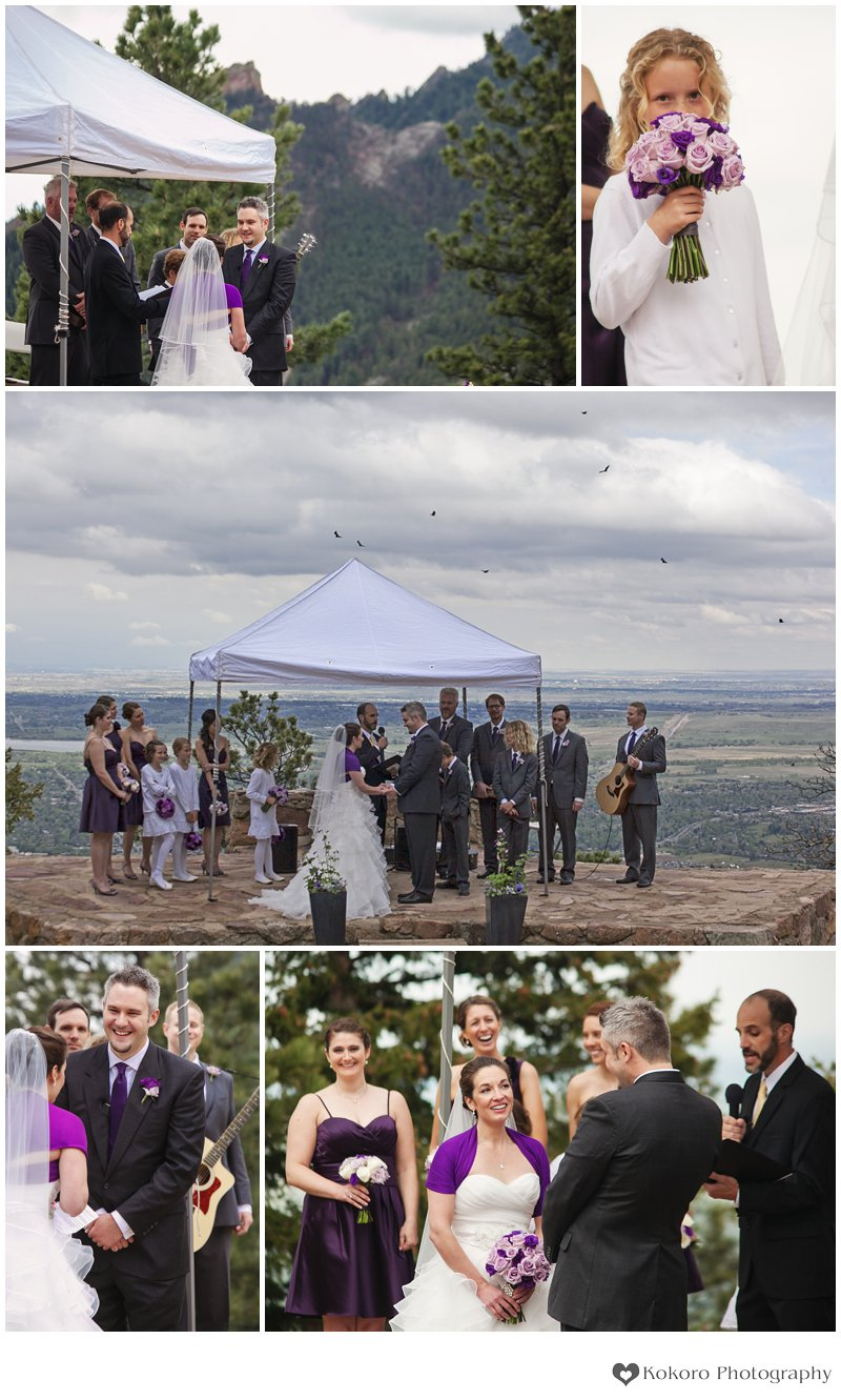 Boulder Sunrise Amphitheater Wedding0106
