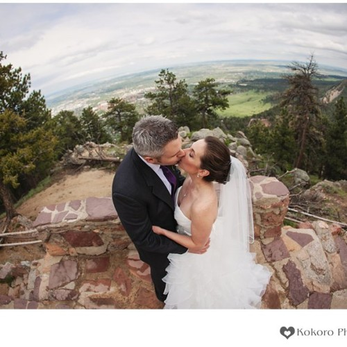 Michelle and Lance- Rainy Boulder Wedding
