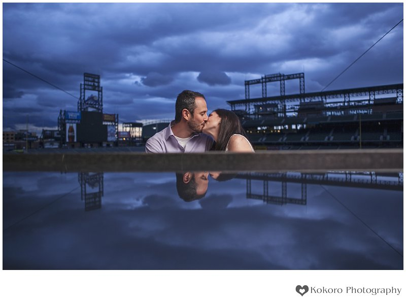 Dana and Mike- Coors Field Wedding Rehearsal