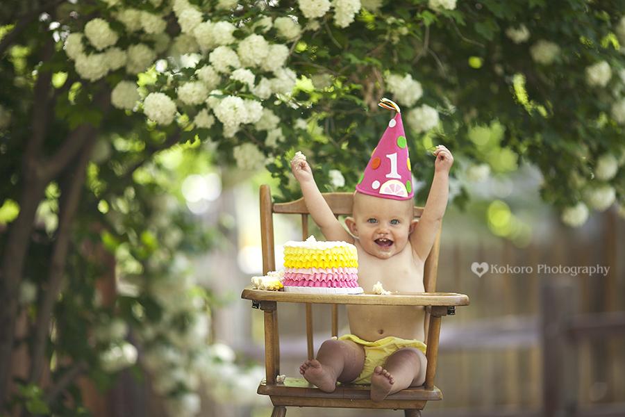 Kendall's 1st Birthday Cake Smash!