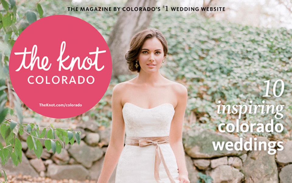 Love Stories in The Knot Magazine