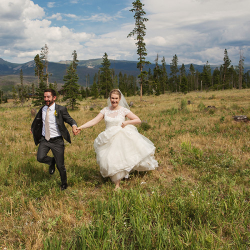 Elizabeth and Matt- Wild Horse Inn Wedding