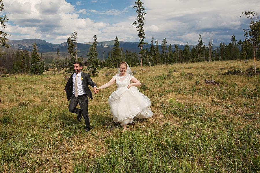 Elizabeth and Matt- Wild Horse Inn Wedding