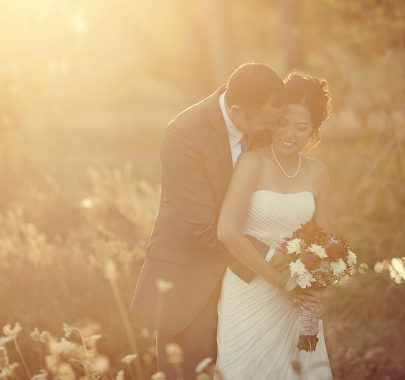 Quynh and Nathan- Hudson Gardens Wedding