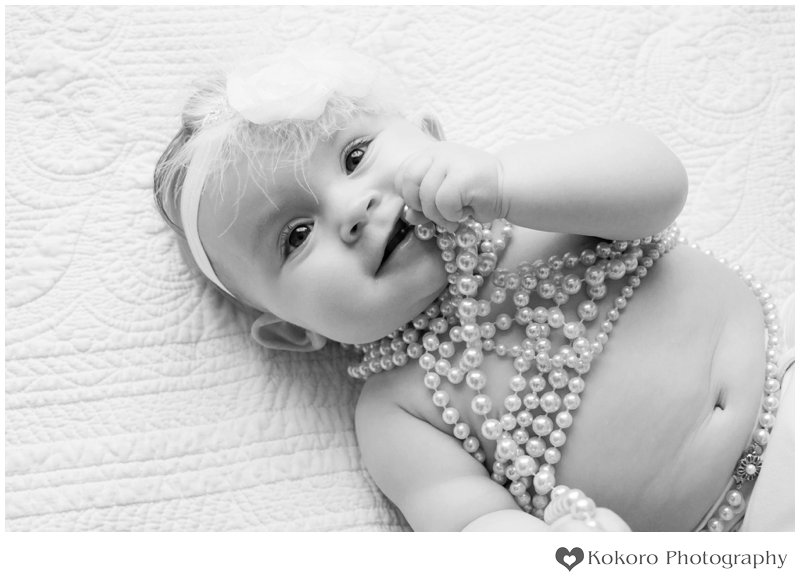 Denver Baby Photography - Glitter and Pearls | www.kokorophotography.com