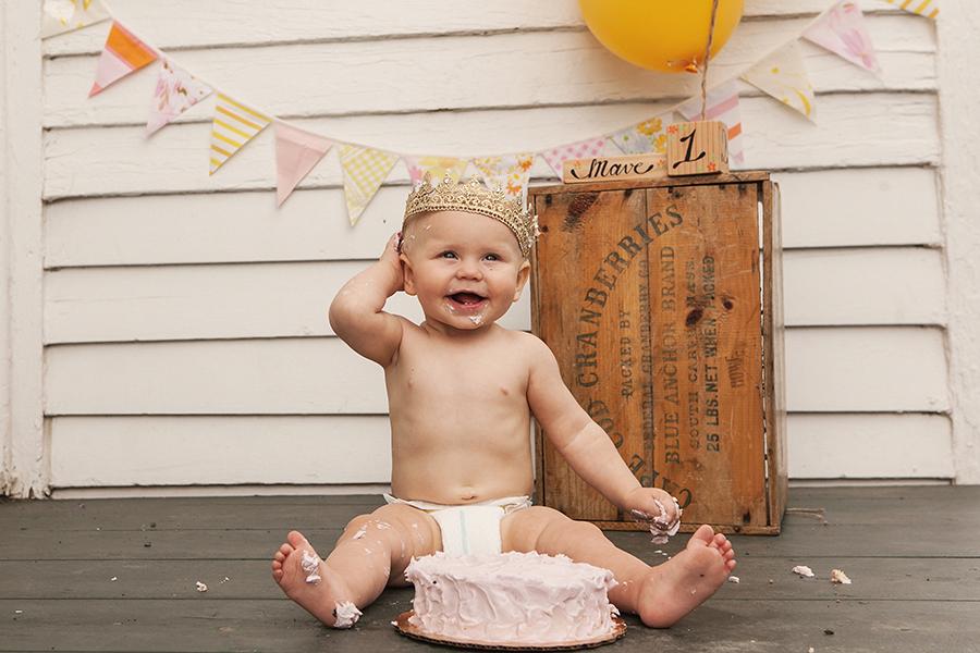 Mave's First Birthday