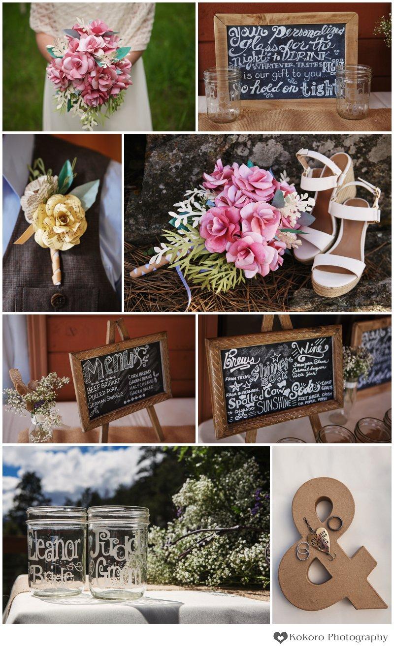 Colorado Mountain Wedding Photography | www.kokorophotography.com