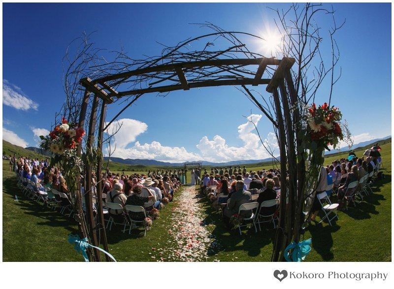Big Horn Equestrian Center Wedding | www.kokorophotography.com