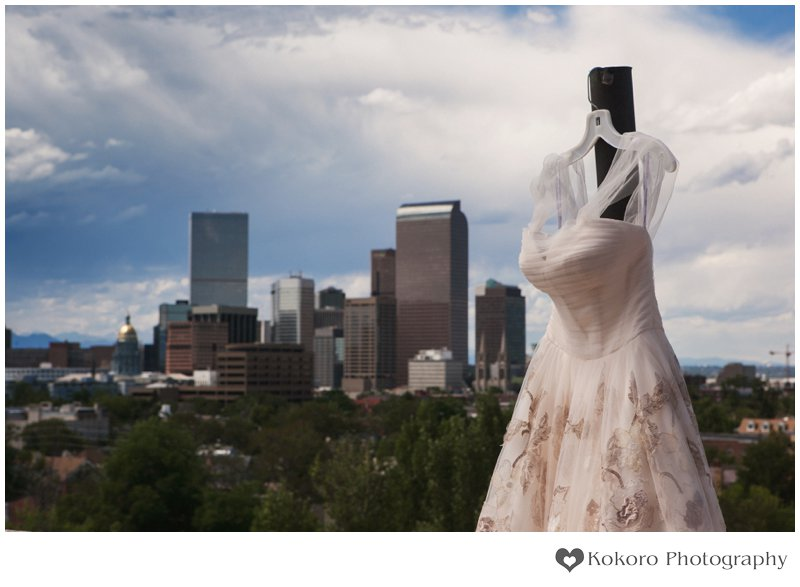 Cheeseman Park Wedding | www.kokorophotography.com