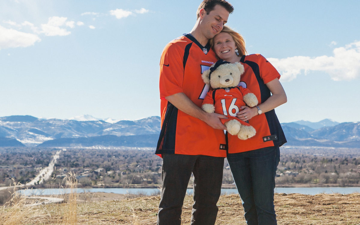 Denver Broncos Pregnancy Announcement!