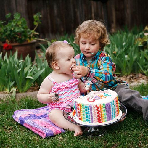 Miss C's 1st Birthday & Cake Smash!