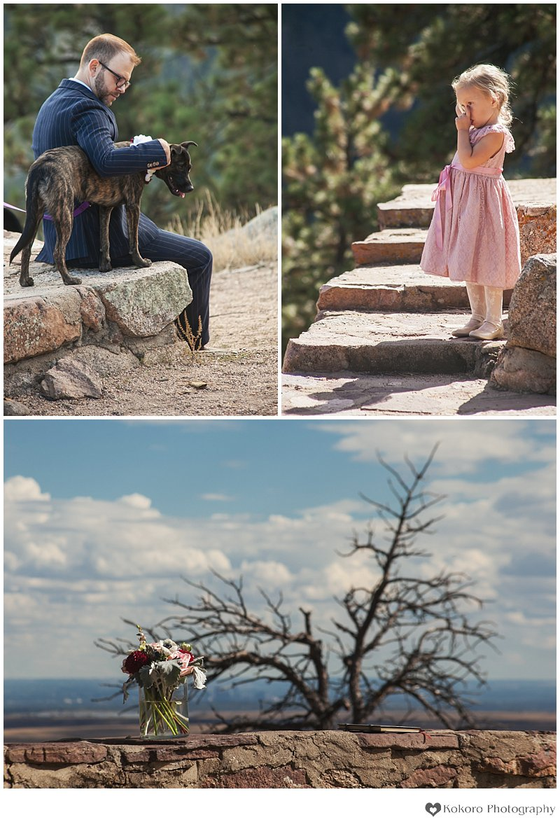 Flagstaff Mountain Wedding, Sunrise Amphitheatre Wedding, Chautauqua Wedding, Boulder Wedding Photography, Colorado Mountain Wedding Photographers, Kokoro Photography