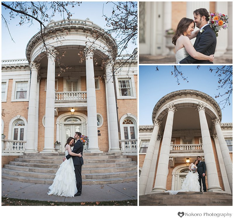 Denver Wedding,Denver Wedding Photographer,Grant-Humphreys Mansion,Kokoro Photography,St. Ignatius Loyola,Wedding Photography,